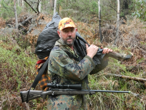 Andrew Rosser - Sambar Deer Success Story