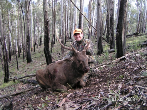 Brett Cooke - Sambar Deer Success Story