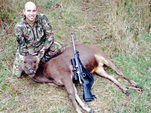 Daniel McMaster - Sambar Deer Success Story