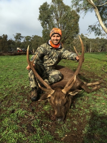 Emmanuel Daood - Sambar Deer Success Story