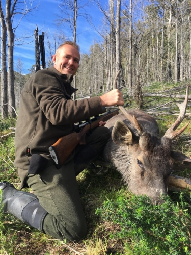 Robin G A Vetch - Sambar Deer Success Story