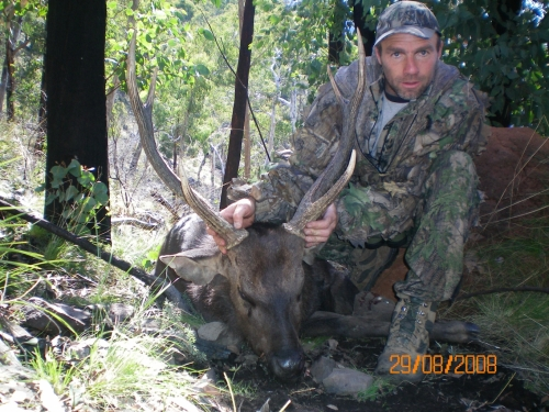 Mark Walker  - Sambar Deer Success Story