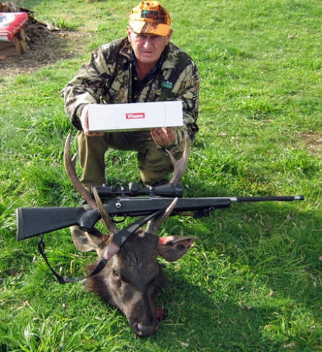 Brian Cherry - Sambar Deer Success Story
