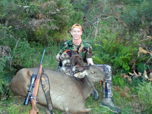 Nathan Grimes - Sambar Deer Success Story